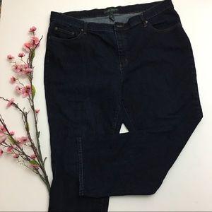 Lauren by Ralph Lauren Dark Wash Jeans